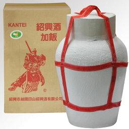 (単品) 日和商事 関帝紹興 加飯酒 9L壺 (紹興酒) (中国酒)
