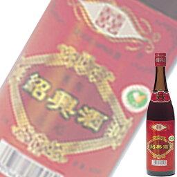 (単品) 日和商事 雙喜 (そうき) 花彫酒 600ml瓶 (紹興酒) (中国酒)