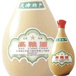(単品) 日和商事 天津 高粮酒 62% 500ml壺 (白酒) (中国酒)