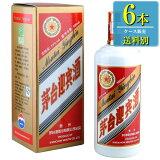 (あす楽対応可) 日和商事 茅台迎賓酒 (マオタイゲイヒンシュ) 500ml瓶 x 6本ケース販売 (中国酒) (白酒)