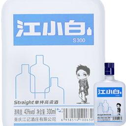 (単品) 日和商事 江小白 (じゃんしゃおばい) 300ml瓶 (白酒) (中国酒)