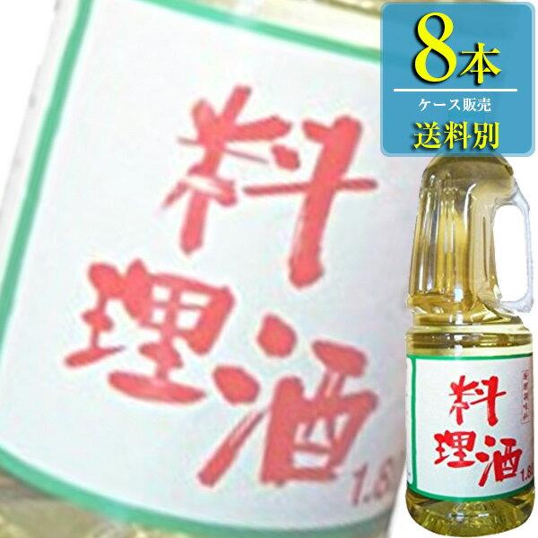 サンフーズ「味わい料理酒」1.8Lペットx8本ケース販売【料理酒】