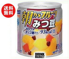 【送料無料】はごろもフーズ 朝からフルーツ みつ豆 190g缶×24個入 ※北海道・沖縄・離島は別途送料が必要。