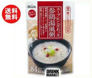送料無料 丸善食品工業 テーブルランド スープにこだわった 参鶏湯風粥 220gパウチ×24(12×2)袋入 ※北海道・沖縄・離島は別途送料が必要。