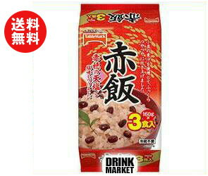 【送料無料】テーブルマーク 赤飯 3食 (160g×3個)×8個入 ※北海道・沖縄・離島は別途送料が必要。