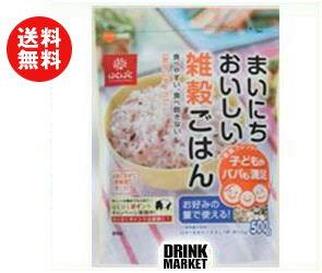 【送料無料】【2ケースセット】はくばく まいにちおいしい 雑穀ごはん 500g×6袋入×(2ケース) ※北海道・沖縄・離島は別途送料が必要。