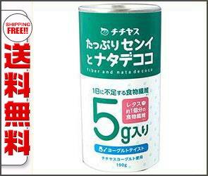 【送料無料】【2ケースセット】チチヤス たっぷりセンイとナタデココ 190g缶×20本入×(2ケース) ※北海道・沖縄・離島は別途送料が必要。