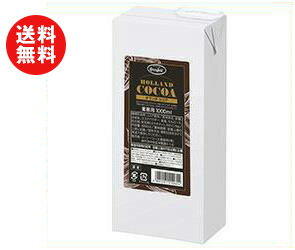 【送料無料】【2ケースセット】UCC HOLLAND COCOA(オランダココア) 1000ml紙パック×6本入×(2ケース) ※北海道・沖縄・離島は別途送料が必要。
