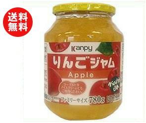 【送料無料】カンピー りんごジャム 780g瓶×6個入 ※北海道・沖縄・離島は別途送料が必要。