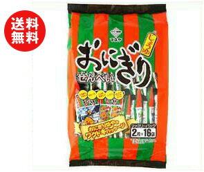 【送料無料】マスヤ おにぎりせんべい ファミリーパック 2枚×16袋×10袋入 ※北海道・沖縄・離島は別途送料が必要。