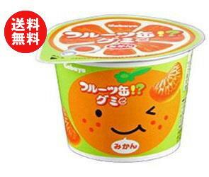 【送料無料】カバヤ フルーツ缶グミ 50g×12個入 ※北海道・沖縄・離島は別途送料が必要。
