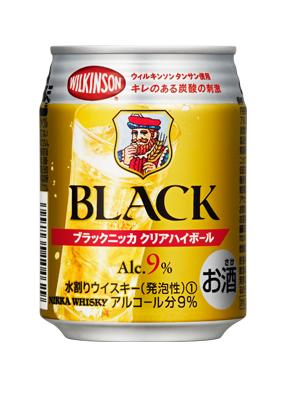 アサヒビール株式会社 ブラックニッカ クリアハイボール 250ml 1ケース24本 02P03Dec16