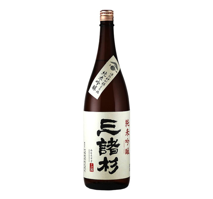 【今西酒造・奈良地酒】三諸杉(みむろすぎ) 純米吟醸 1.8L瓶 1本