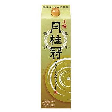 【あす楽】月桂冠 月桂冠 上撰 プレミアム 大吟醸酒ブレンド 日本酒 1.8Lパック 1ケース(6本入)【送料無料】
