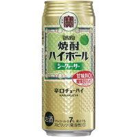 宝酒造株式会社焼酎ハイボールシークワーサー500ml1ケース(24本入)
