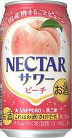 サッポロビール株式会社 ネクターサワー ピーチ 350ml 1ケース24本 02P03Dec16