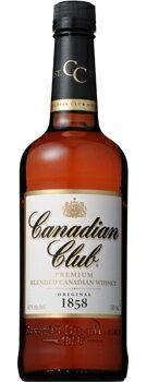 サントリーホールディングス株式会社 カナディアンクラブ 40度 700ml瓶 1ケース12本