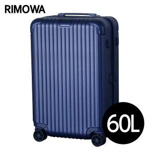 0a2d56951a リモワ RIMOWA エッセンシャル チェックインM 60L マットブルー ESSENTIAL Check-In M スーツケース