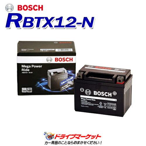 バイク用品, バッテリー !RBTX12-N Mega Power Ride() BOSCH()