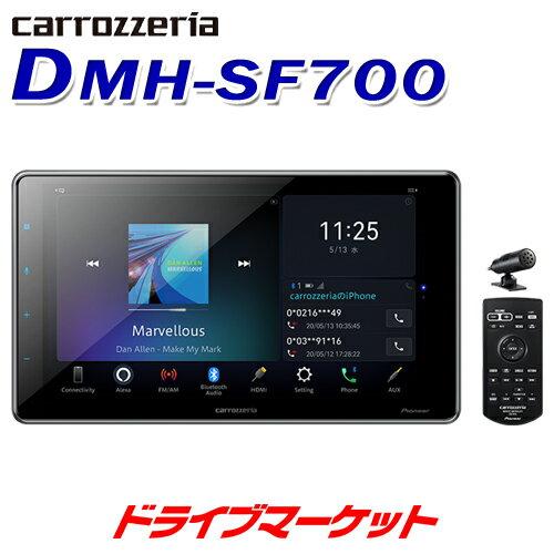 カーオーディオ, プレーヤー・レシーバー !! DMH-SF700 1DIN 9VHDBluetoothUSBDSP Pioneer carrozzeria