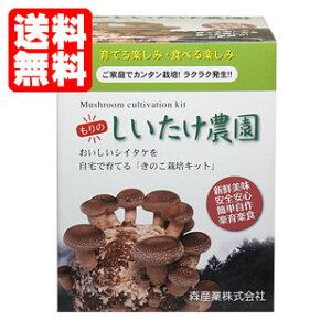 【送料無料】しいたけ栽培キット【もりのしいたけ農園】 [椎茸栽培キット/シイタケ栽培/しいたけ…