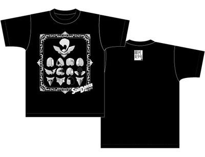 STAR DRIVER 輝きのタクトTシャツ 仮面柄ブラック レディース Sサイズ画像