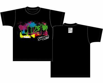 STAR DRIVER 輝きのタクトTシャツ OP柄ブラック レディース Sサイズ画像