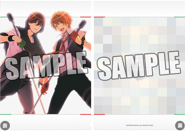 うたの☆プリンスさまっ♪クリアファイル SHUFFLE UNIT CD Ver.「嶺二&音也」【クリックポスト対応】画像