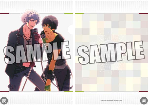 うたの☆プリンスさまっ♪クリアファイル SHUFFLE UNIT CD Ver.「蘭丸&セシル」【クリックポスト対応】画像