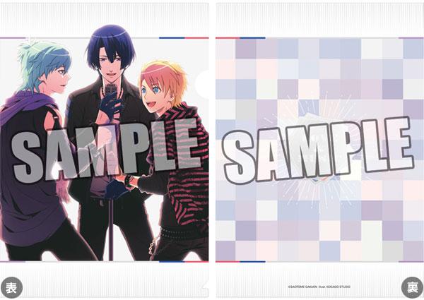 うたの☆プリンスさまっ♪クリアファイル SHUFFLE UNIT CD Ver.「藍・真斗・翔」【クリックポスト対応】画像