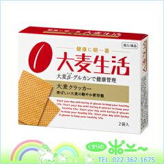 大麦生活 大麦クラッカー 19.25g×2袋入【大塚製薬】【4987035551812】