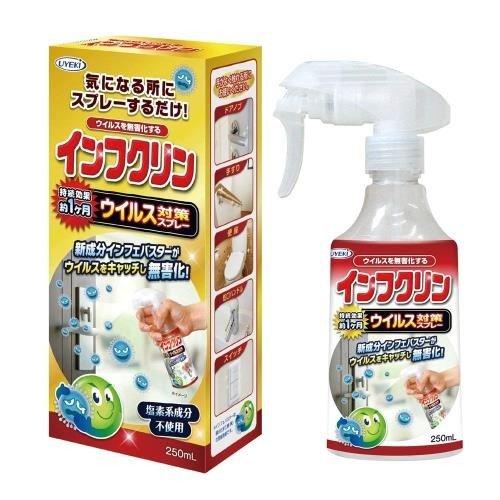 掃除用洗剤・洗濯用洗剤・柔軟剤, 除菌剤  250mLUYEKI4968909007772