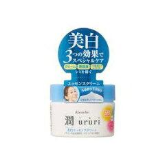 化粧水のあとの美白ケアに!【カネボウ】潤(うるり)美白エッセンスクリームV 100g