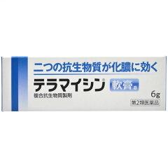 【メール便対応商品】 テラマイシン軟膏a 6g 【第2類医薬品】