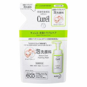 花王 キュレル 皮脂トラブルケア 泡洗顔料 つめかえ用 130ml'※パッケージリニューアルに伴い画像と異なるパッケージの場合がございます。ご了承下さいませ。