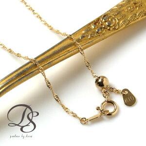 ゴールド ネックレススクリューチェーン チェーン ディーヴァス アクセサリー ネックレス シンプル レディース プレゼント
