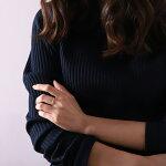 K18ゴールド2連ピンキーリング(スパイラルxねじれ)華奢なデザインの2連がシンプルでオシャレ(18k/18金・指輪)DEVASディーヴァス誕生日プレゼントギフトレディースピンキーリングゴールドリングジュエリー
