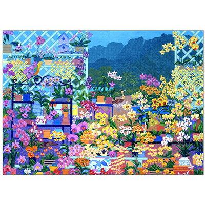 パズル, ジグソーパズル  Orchid House-Hawaii 1000 TPG-1000-619