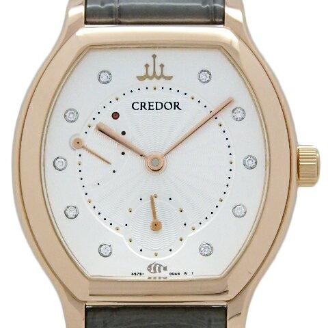 腕時計, レディース腕時計 K18PG SEIKO Aqua 4S79-00A0 DS KATOU