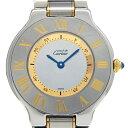 【DS KATOU】 Cartier カルティエ マスト21 W10072R6 ユニセックス クォー ...
