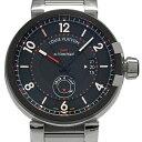 ルイ・ヴィトン タンブール エヴォリューション GMT Q1156 メンズ オートマ 黒文字盤 【中古】【DS KATOU】