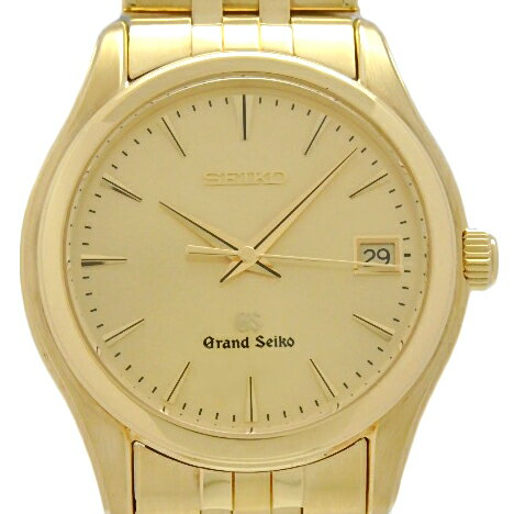 腕時計, メンズ腕時計 DS KATOU K18YG SEIKO GS SBGX018 9F62