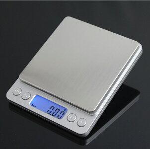 デジタル スケール 天板広い キッチンポケット秤 精密 デジタル スケール 電子 はかり(0.01g-500g) キッチンスケール
