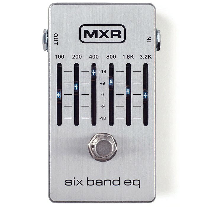 ギター用アクセサリー・パーツ, エフェクター DTMXR M109S Six Band Graphic EQ