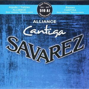【DT】Savarez 510AJ ALLIANCE/CANTIGA Set High Tension サバレス クラシック弦