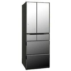 【送料無料】日立【基本設置料金セット】 6ドア冷蔵庫 「真空チルド Xシリーズ」(517L) R-X5200E-X クリスタルミラー (RX5200E)