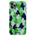 CASEPLAY MOOMIN for iPhone 11 Pro [ Green camo ] MBMTPUGCXI58 MBMTPUGCXI58