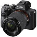SONY(ソニー) α7 III(a73) ズームレンズキット ILCE-7M3K [ソニーEマウント] フルサイズミラーレスカメラ ILCE7M3K