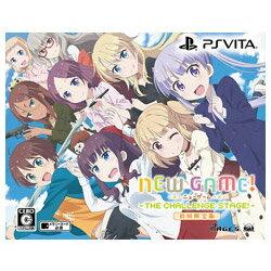 5pb. NEW GAME! -THE CHALLENGE STAGE!- 限定版 【PS Vitaゲームソフト】