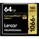 LEXAR Lexar Professional 1066x Compact Flashカード [64GB] LCF64GCRBAP1066 / 最大で読込160MB/秒、書込155MB/秒 LCF64GCRBAP1066